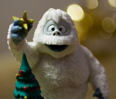 Christmas Sasquatch